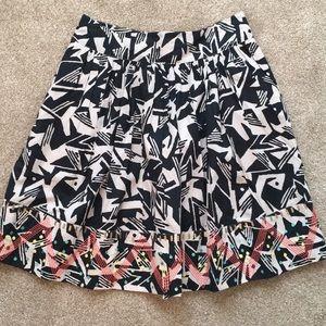 ANTHROPOLOGIE Boho Cotton Skirt